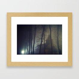 The Mysterious Night Framed Art Print