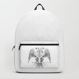 Two-headed eagle as Masonic symbol Backpack