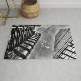 Lloyd's and the Cheese Grater  Rug