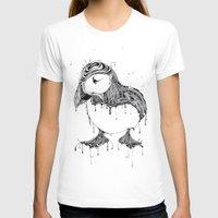 puffin T-shirts featuring Hawt Puffin by Gwyn Hockridge