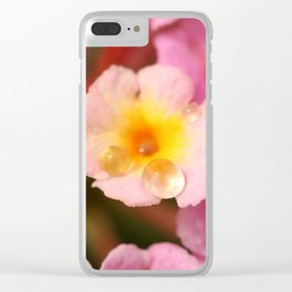 Dew Droplet Clear iPhone Case