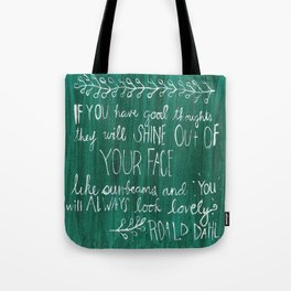Good Thoughts Tote Bag