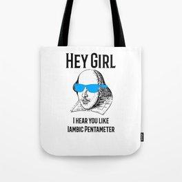 Funny Shakespeare Meme Gift Tote Bag