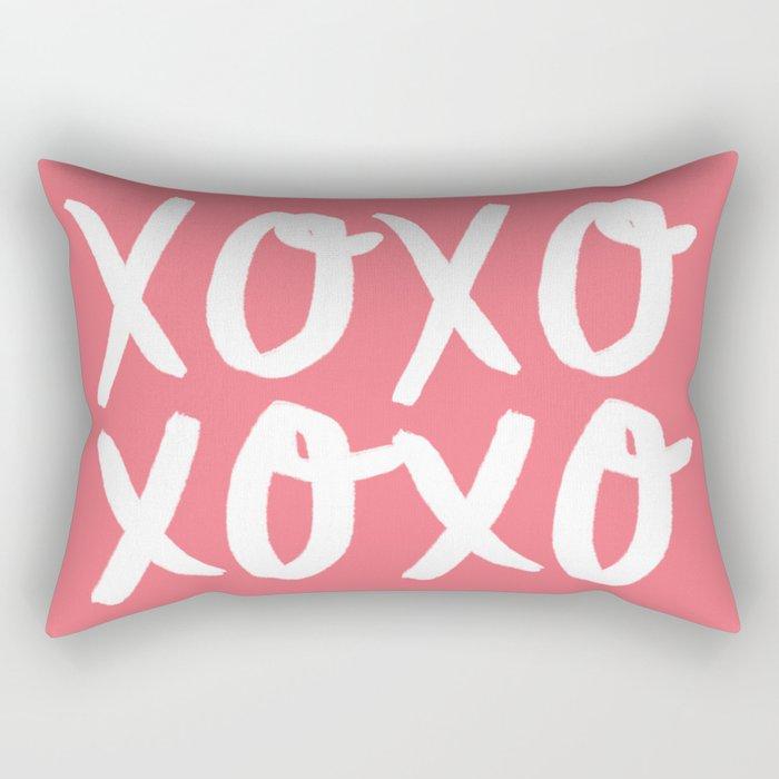 Xo Hugs & Kisses Rectangular Pillow