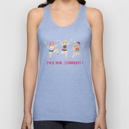 Angry girls Unisex Tank Top