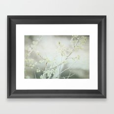 By The Falls Framed Art Print