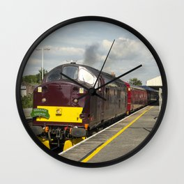 Wareham Tractor Wall Clock