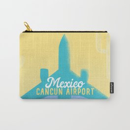 CUN Cancun Mexico airport code Carry-All Pouch