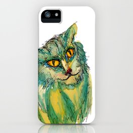 Max the cat iPhone Case