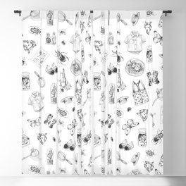 Boy's summer time Blackout Curtain