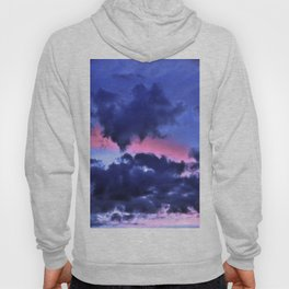 Clouds - Twilight Summer #1 #sunset #decor #art #society6 Hoody