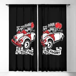 Scary Clown Car, Inspired By The Horror Movie IT Blackout Curtain
