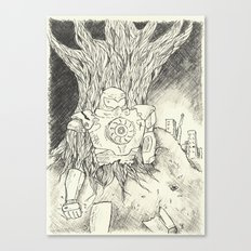 Litho Mecha Canvas Print