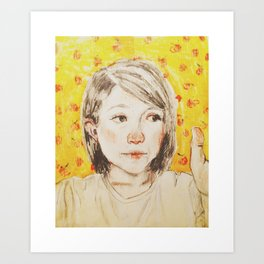 Fantastic Mrs. Thumb Art Print