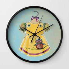 Avery Dress 02 Wall Clock