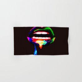 Rainbow Lips Hand & Bath Towel