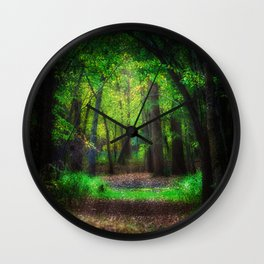 Fall Splendor 2 Wall Clock