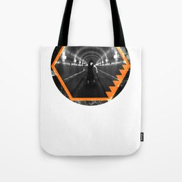 Trapped In Abstract Tote Bag
