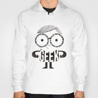 geek Hoodies featuring GEEK by Farnell