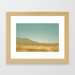 Mexico Roadtrip Framed Art Print