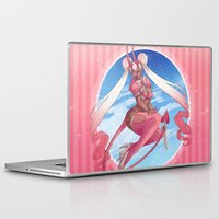 magical girl Laptop & iPad Skins featuring Magical Girl by Rebeccacablah