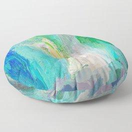 418 - Abstract Colour Design Floor Pillow