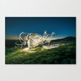 Alien Vibe Canvas Print
