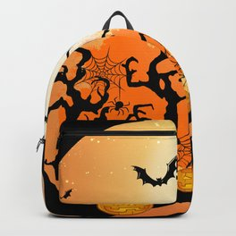 Halloween City Vibes Backpack