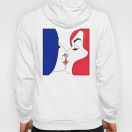 Kiss. French edition Hoody