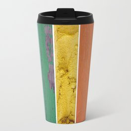texture rainbow Travel Mug