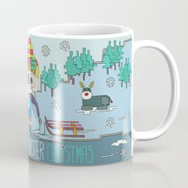 This is not a Monster Christmas Coffee Mug