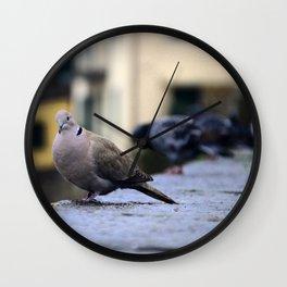 My Italian Bird Friend Wall Clock
