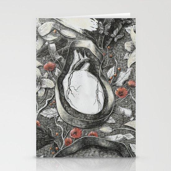 Heart-Shaped Box Stationery Cards