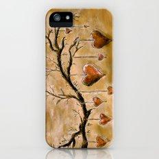 Der Liebesbaum (in Acryl) iPhone (5, 5s) Slim Case