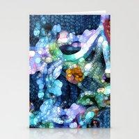 aquarius Stationery Cards featuring Aquarius by Joke Vermeer