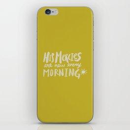 Mercy Morning x Mustard iPhone Skin
