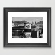 EYE OF THE CITY Framed Art Print