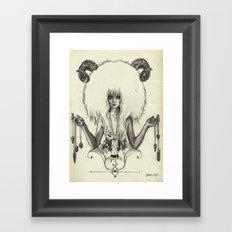 A R I E S Framed Art Print