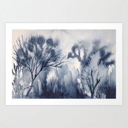 Memory Landscape 8 Art Print