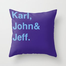 Utah Jazz (classic) Throw Pillow