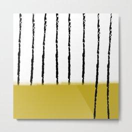 spighe di grano Metal Print