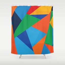 Fracture Shower Curtain