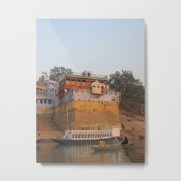 The Sacred Ganges River in India (2004b) Metal Print