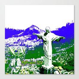 8-bit Rio Canvas Print