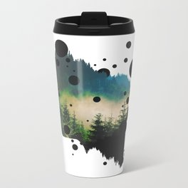 Face Of The Forest Metal Travel Mug