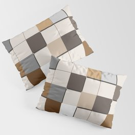Incomplete Wall Tiles Pillow Sham