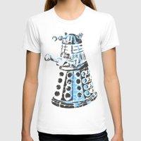 dalek T-shirts featuring Dalek Graffiti by spacemonkey89