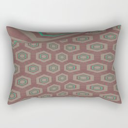 Pallid Minty Dimensions 18 Rectangular Pillow