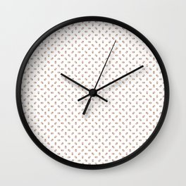 Ice-Cream Cone Pattern Wall Clock