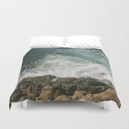 Big Sur Waves Duvet Cover